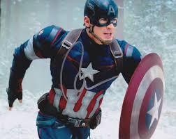 Chris Evans Autograph signed Captain America 8×10 photo avengers 941 |  Captain america, Avengers pictures, Avengers