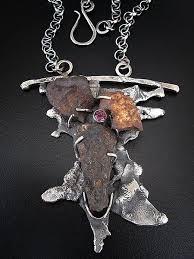 forging metal jewelry. shrapnel 1 by richard salley. forging metalstone jewelrymetal metal jewelry c