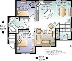 Multi family plan W B detail from DrummondHousePlans com    st level to bedroom split level house plan   basement appartment  family
