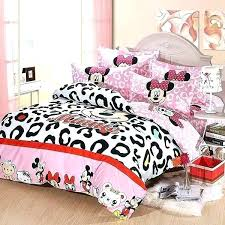 mouse comforter set twin sheets minnie