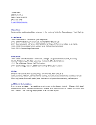 Brilliant Ideas Of Hair Stylist Assistant Resume Sample With Format