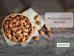 check eration in almonds