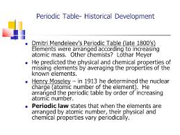 Periodic Table-Chapter 6 - ppt video online download