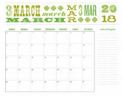 editable calendar march 2018 2018 calendar with holidays usa march 2018 calendar with holidays
