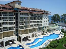 Учебная международная практика студентов специальности  Вид kemer resort hotel