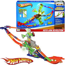 roto arm revolution hot wheels. picture of hot wheels wall track - roto revolution course 360\u0027 arm w