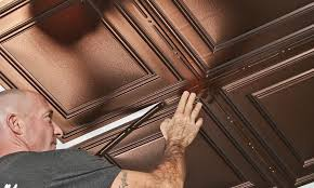 Ceiling Tile Decorative Strips ProLITE Decorative Ceiling Strips Ceiling Installation 2