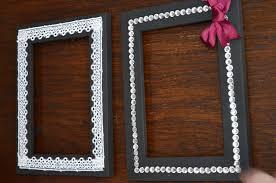 Picture Frames Design:Black Decorating Picture Frames Simple Ideas Classic  Decoration Themes Motive Sample Wooden