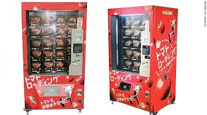 Types Of Vending Machines In Japan Enchanting Tokyo Vending Machine Tempts Runners With Tomatoes CNN