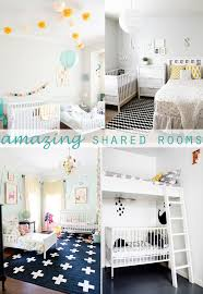 Kids Shared Bedroom Some Cute Ideas For A Shared Newborn Toddler Room Girls Room