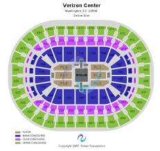 Capital One Arena Seating Chart Capital One Arena Tickets And Capital One Arena Seating