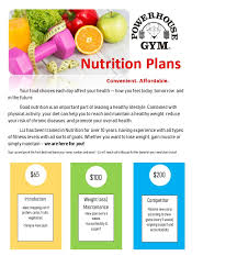 we also offer personalized meal plans to help you reach your goals check them our below and call us to get started today