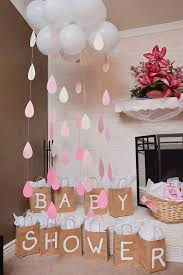 Baby Shower or bridal shower Cloud and Raindrops, beautiful to put next to  your game