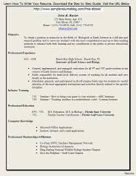 Sample Resume For Teacher Job Application Best of Sample Resume For Teaching Position 24 Captivating Resumes Teachers