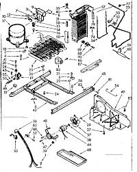 kenmore model 1067630562 refrigerators misc genuine parts Diagram Kenmore Appliances Refrigerators Kenmore Refrigerator 106 52514101 Wiring Diagrams #17