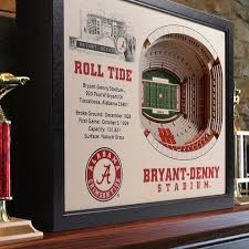 >ncaa alabama crimson tide stadium view wall art bryant denny  ncaa alabama crimson tide stadium view wall art bryant denny stadium target