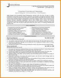 Construction Project Manager Resume Sample 100 construction project manager resume samples driverresume 76
