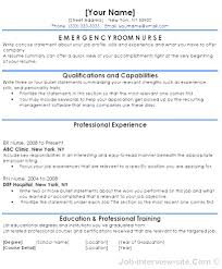 registered nurse sample resumes gallery of emergency room nurse sample resume radiography cover