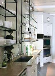 metal kitchen wall shelves of the most