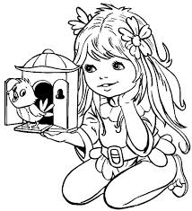 Cute Girl Coloring Pages To Download And Print For Free Free