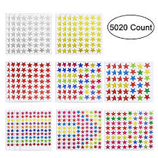 Teacher Reward Chart 5020 Count Star Label Stickers Reward Chart Star Stickers For Kids Teachers 120 Sheet