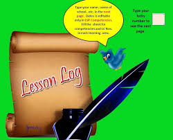 daily lesson log format complete automated daily lesson log for all grades and learning