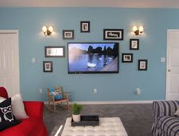Red And Turquoise Living Room Elizabeths Turquoise Red Family Room Before After Maria