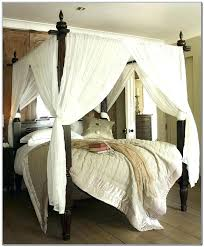 twin wood canopy bed – rosicrucians.info