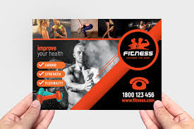 Gym Brochure Templates Gym Fitness Brochure Template Pack BrandPacks 15