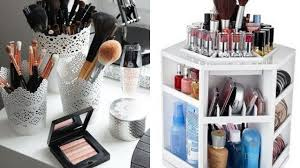 diy makeup storage organize ideas dressing table organization ideas makeup item storage ideas