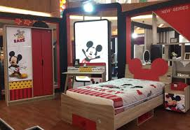 olympic furniture. Tempat Tidur Mickey Mouse Olympic Furniture (Dira/tabloidbintang.com)