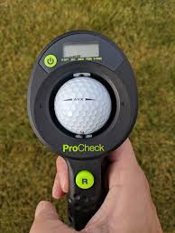 Golf Ball Compression Chart Procheck Golf Ball Compression Measuring Device Hooked On