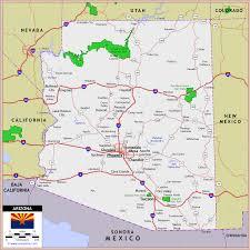 arizona highway and road map raster image version world sites Travel Map Of Arizona arizona highway and road map raster image version world sites travel map of arizona and utah