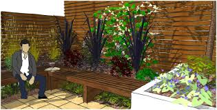 Small Picture Backyards Winsome Elegant Long Thin Garden Design Ideas Best