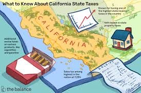 California State Taxes Are Some Of The Highest