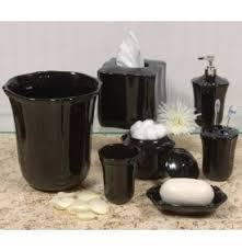 black bathroom accessories. Exellent Black Skyros Royale Black Bath Accessories On Bathroom A
