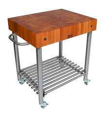Chopping Table Kitchen Butcher Block Kitchen Carts John Boos Catskill