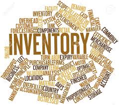 Word Inventory Abstract Word Cloud For Inventory With Related Tags And Terms
