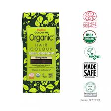 Radico Hair Color Chart Radico 100 Certified Organic Hair Colour Burgundy