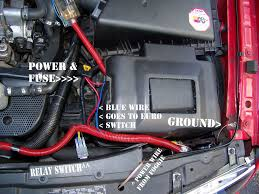 vwvortex com ecs tuning fog light kit w euro switch wiring diagram and the red tubing that runs vertical across has the blue wire for the euro switch and also has my subwoofer wiring