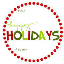 La Plates Blog Holiday Gift Tags  Free PrintableChristmas Gift Tag Design