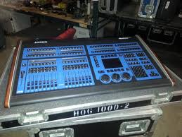 hog 1000 lighting console flying pig systems
