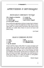 recipe book formats step 3 recipe pages simply cookbooks