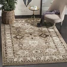 safavieh vintage hamadan traditional taupe distressed rug 2 7