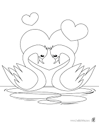 swan coloring page coloring pages of hearts swan coloring pages heart in love page hearts and roses sheets with wings lake ballet swan coloring pages lake