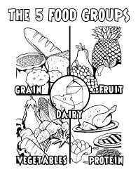 Small Picture Awesome Healthy Foods Coloring Pages Images New Printable