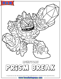 Skylander Coloring Page Printable Coloring Pages Coloring Exciting
