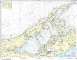 Noaa Nautical Chart 12358 New York Long Island Shelter Island Sound And Peconic Bays Mattituck Inlet