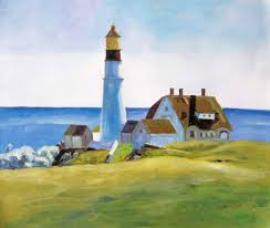 edward hopper edward hopper oil painting h059 605 lighthouse sunny day