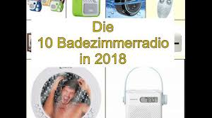 Top 10 Die Besten Badezimmerradio In 2018 Youtube